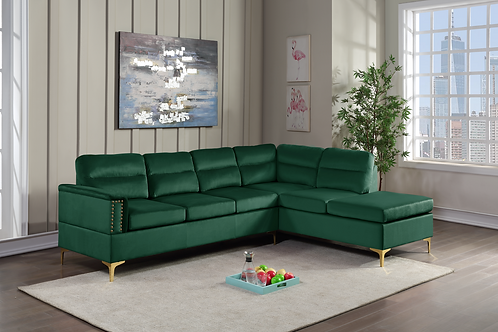 Vogue - Green Sectional