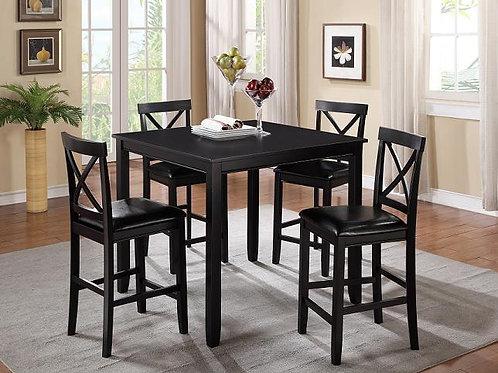 Tahoe - Espresso - Pub Table + 4 Chairs