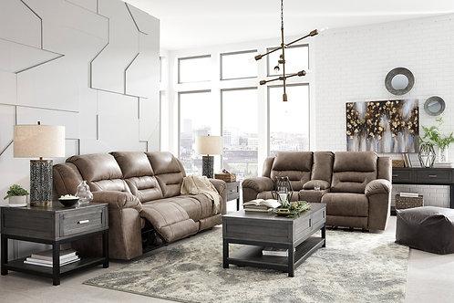 Ashley 399 - 2pc Sofa and Loveseat Set