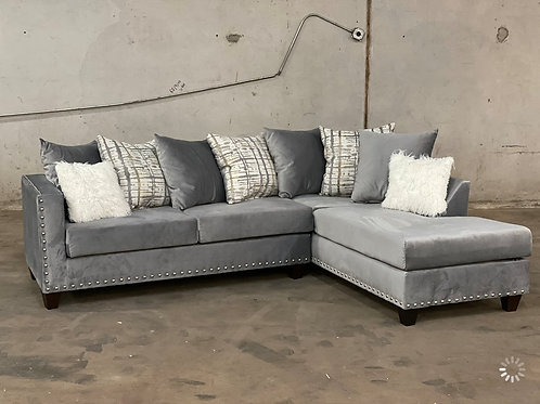 200-GREY Sectional