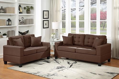 HH2255 - 2pc Sofa & Loveseat Set