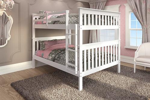123 Full/Full Bunk Bed