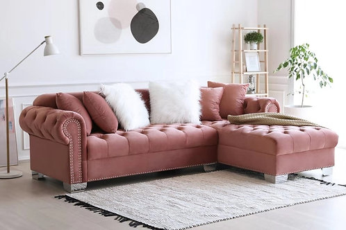 Royal - Pink Sectional