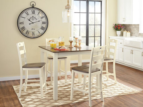 D335 - Pub Table + 4 Chairs