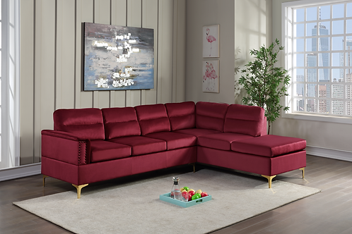 Vogue - Red Sectional