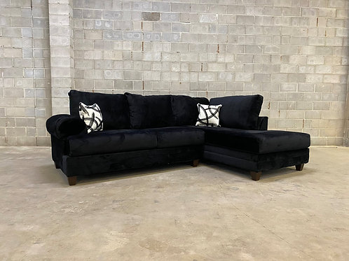 900 Black Sectional