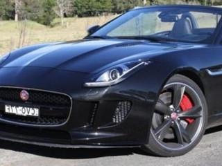 Jaguar F-Type cabriolet- 2016