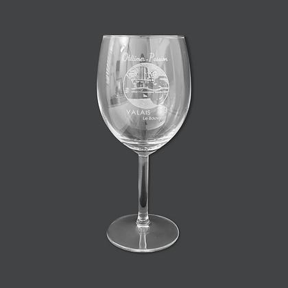 Verre à vin Rouge 35 cl [Gravé]