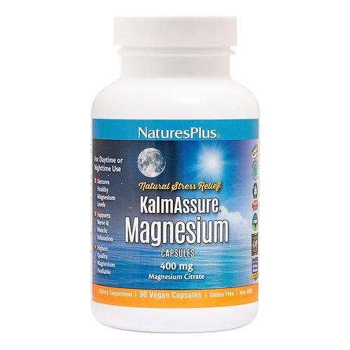 Natures Plus KalmAssure Magnesium 90 VegCaps
