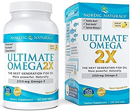 Nordic Naturals Ultimate Omega 2X 120 Soft Gels 60 Servings