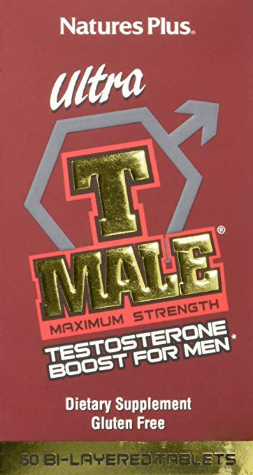 Natures Plus T-Male Max Strength Testosterone Booster