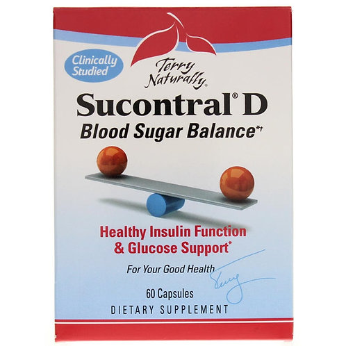 Terry Naturally Sucontral-D 60ct