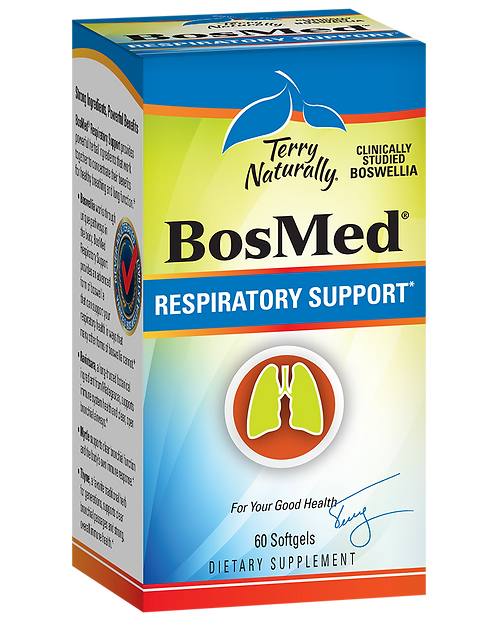 BosMed Respiratory Support 60 Softgels