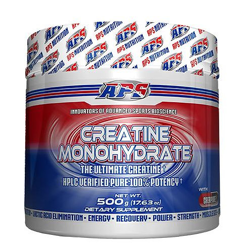 APS Creatine Monohydrate Unflavored 500g 100 Servings