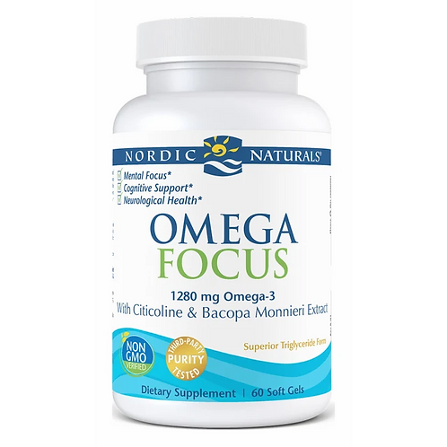 Nordic Naturals Omega Focus 60 Softgels 30 Servings