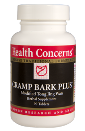 Health Concerns Cramp Bark Plus 90 Tablets 30 Servings