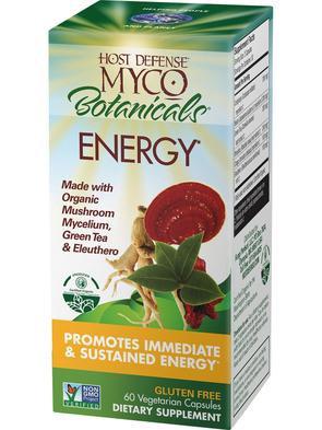 Host Defense Myco Botanicals Energy 60 VegCaps 30 Servings