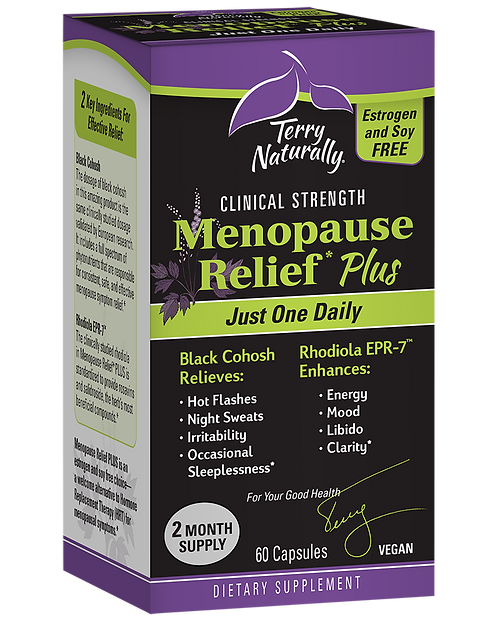 Terry Naturally Menopause Relief Plus 60 Capsules