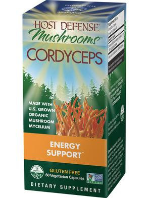Host Defense Cordyceps 60 VegCaps 30 Servings