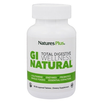 Natures Plus GI Natural Total Digestive Wellness - 90 Tablets