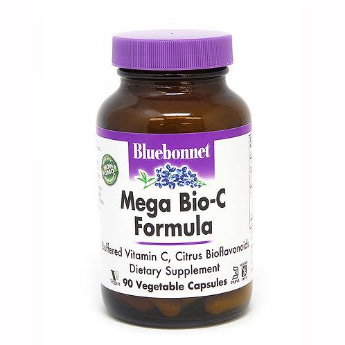 Bluebonnet Mega Bio-C Formula Vegetable Capsules