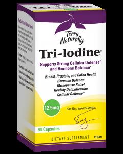 Terry Naturally Tri-Iodine 12.5mg 90 Capsules