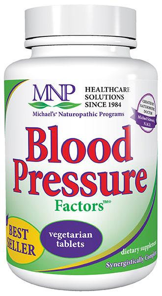 MNP Blood Pressure Factors 180 Tablets 60 Servings