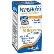 Health Aid ImmuProbio 50 Billion CFU 30 VegCaps