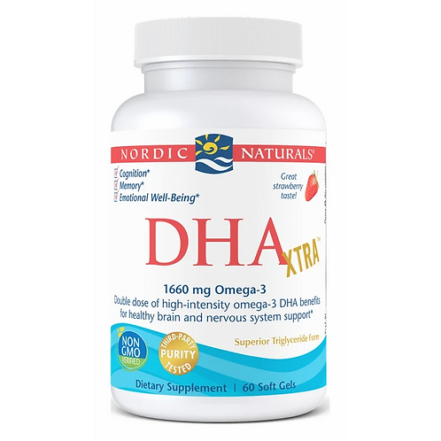 Nordic Naturals DHA Xtra 60 Softgels 30 Servings