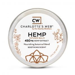 Charlottes Web 450mg Hemp Infused Balm, 1.5 fl oz
