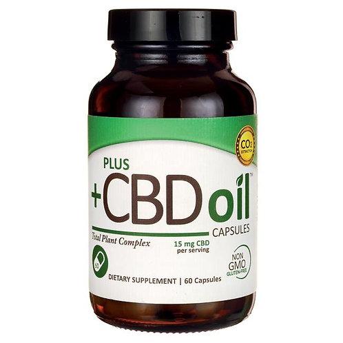 CV Science Plus+ CBD Oil Total Plant Complex 15mg 60ct