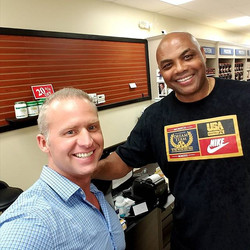 Sir Charles Barkley, down 42 lbs in the