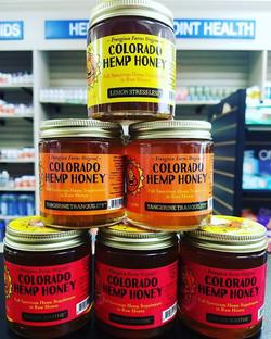 Now carrying #CBD Colorado Hemp Honey