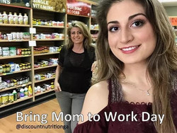 It's _Bring Mom to Work Day_! Come see u