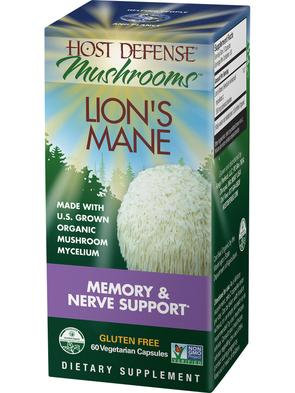 Host Defense Lion's Mane 120 VegCaps 60 Servings