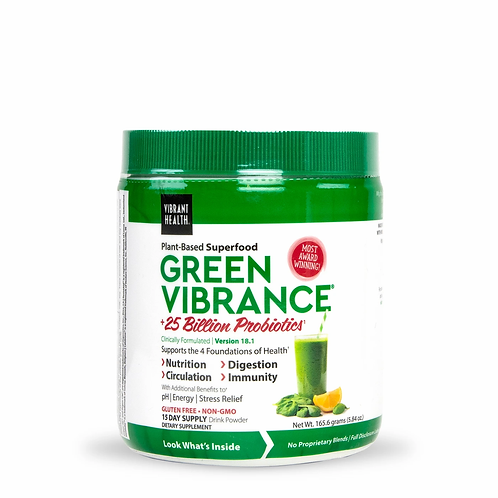 Green Vibrance 15 Day Supply 165.6 grams