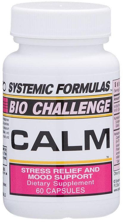 Systemic Formulas Bio Challenge Calm 60ct