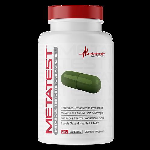 Metabolic Nutrition MetaTest 240 Capsules 30 Servings