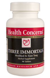 Health Concerns Three Immortals Tablets
