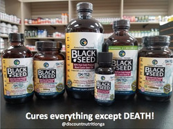 Cures everything except death!_#blacksee