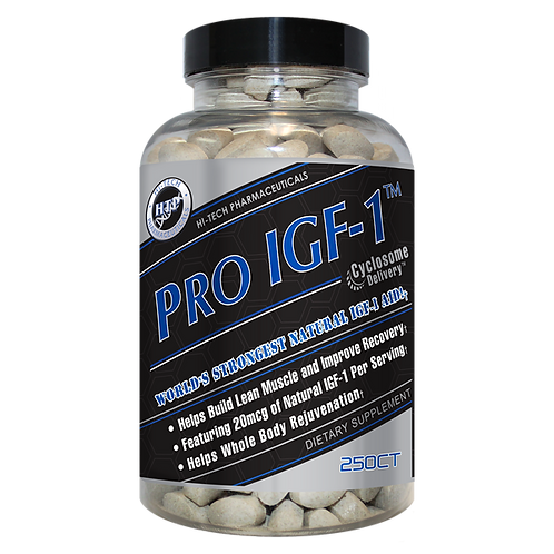 Hi Tech Pharmaceuticals Pro IGF-1 250 Tablets