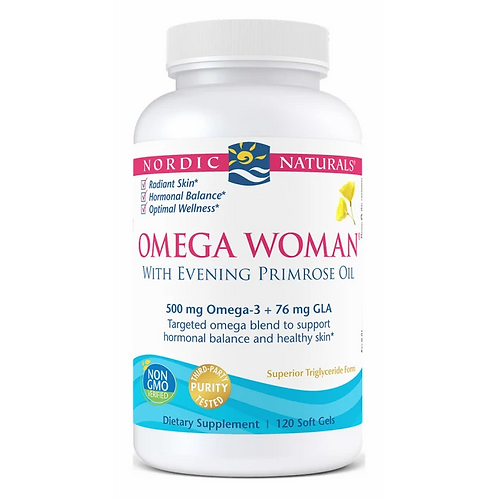 Nordic Naturals Omega Woman 120 Softgels 60 Servings