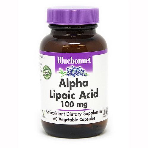 Bluebonnet Alpha Lipoic Acid 60 VegCaps