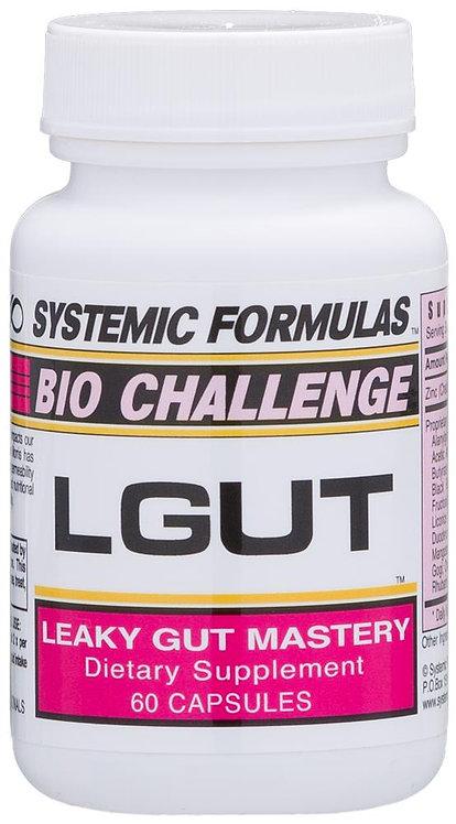 Systemic Formulas Bio Challenge LGut 60 Capsules 45 Servings