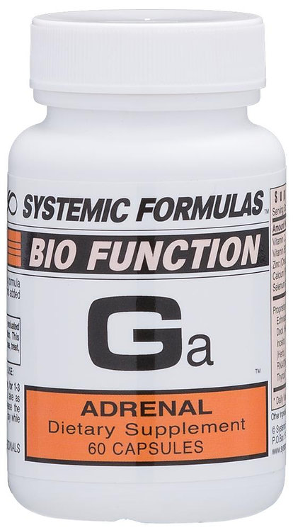 Systemic Formulas Bio Function Ga Adrenal 60ct