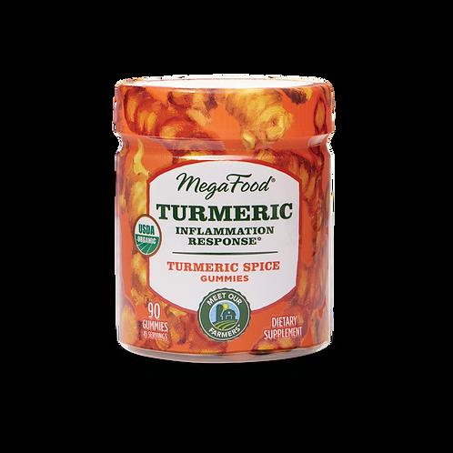 MegaFood Turmeric Gummies 90 Gummies 45 Servings