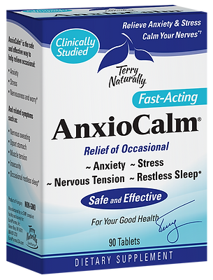 Terry Naturally AnxioCalm 90 Tablets 45 Servings