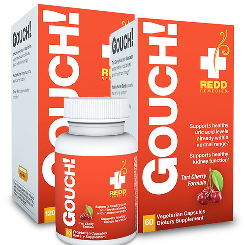 Redd Remedies Gouch! 120 VegCaps 60 Servings