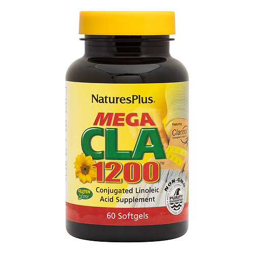 Natures Plus Mega CLA 1200 60 Softgels