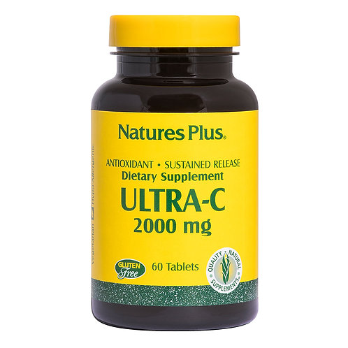 Natures Plus Ultra-C 2000mg 90 Tablets